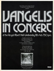 Vangelis - Heaven and Hell Concert