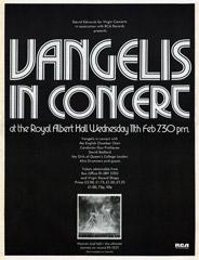 Vangelis - Heaven and Hell Concert