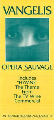 Opera Sauvage US promotion